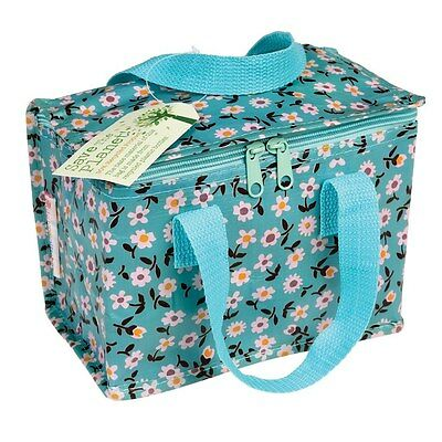dotcomgiftshop DAISY DESIGN RECYCLED PLASTIC INSULATED COOL WARM LUNCH BAG