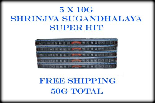 x5 SUPER HIT Incense Sticks 10gm  5 boxes 50g US Seller Free Shipping