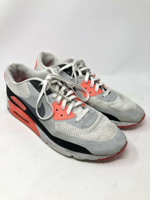 size 40 e02ae 53f3e Nike Air Max 90 Ultra Essential White Cool Grey Infrared Black 1 819474-106  10