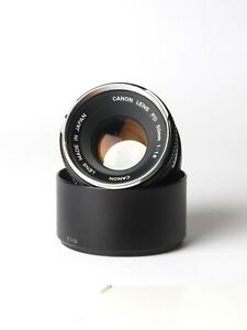 Objectif Canon FD 50mm F/1.8 chrome nose