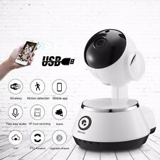 Wireless WiFi USB Baby Monitor Alarm Home Security IP Camera HD 720P Digoo BB-M1