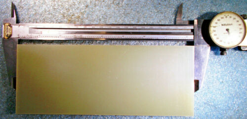 "GAROLITE G-10//FR4 GLASS EPOXY FIBERGLASS PLATE 2 Pieces 8-1//4/"" X 3-1//4/"" X 3//8/"""