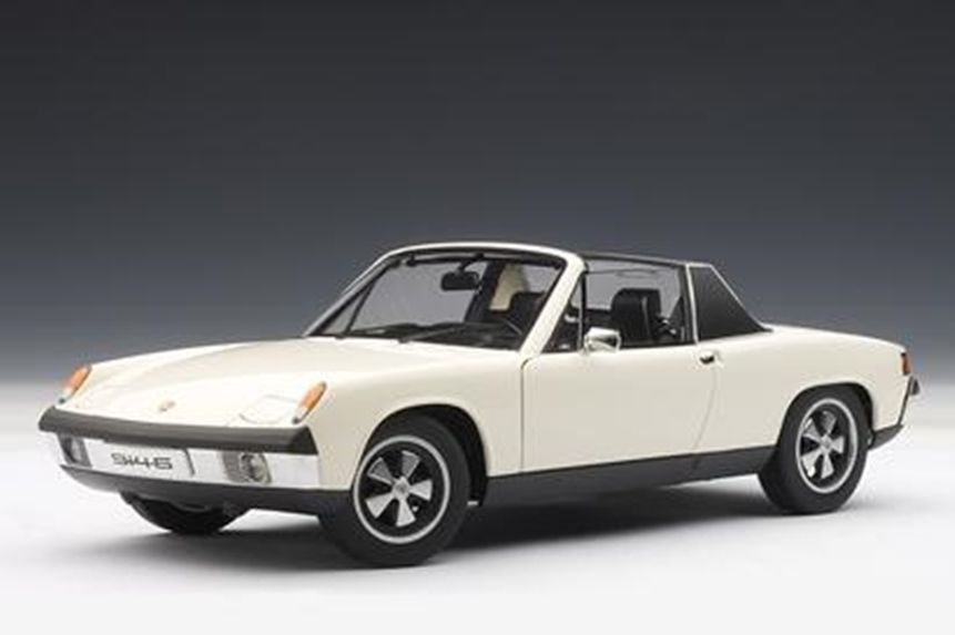 1 18 Autoart Porsche 914 6 (Light Ivory) 1970 for - Rarity