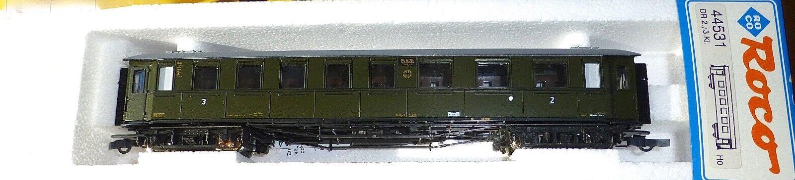 Vagone Treno Direttissimo 23. classee DRG Nem Kkk Roco 44531 H0 1 87 Conf. Orig.