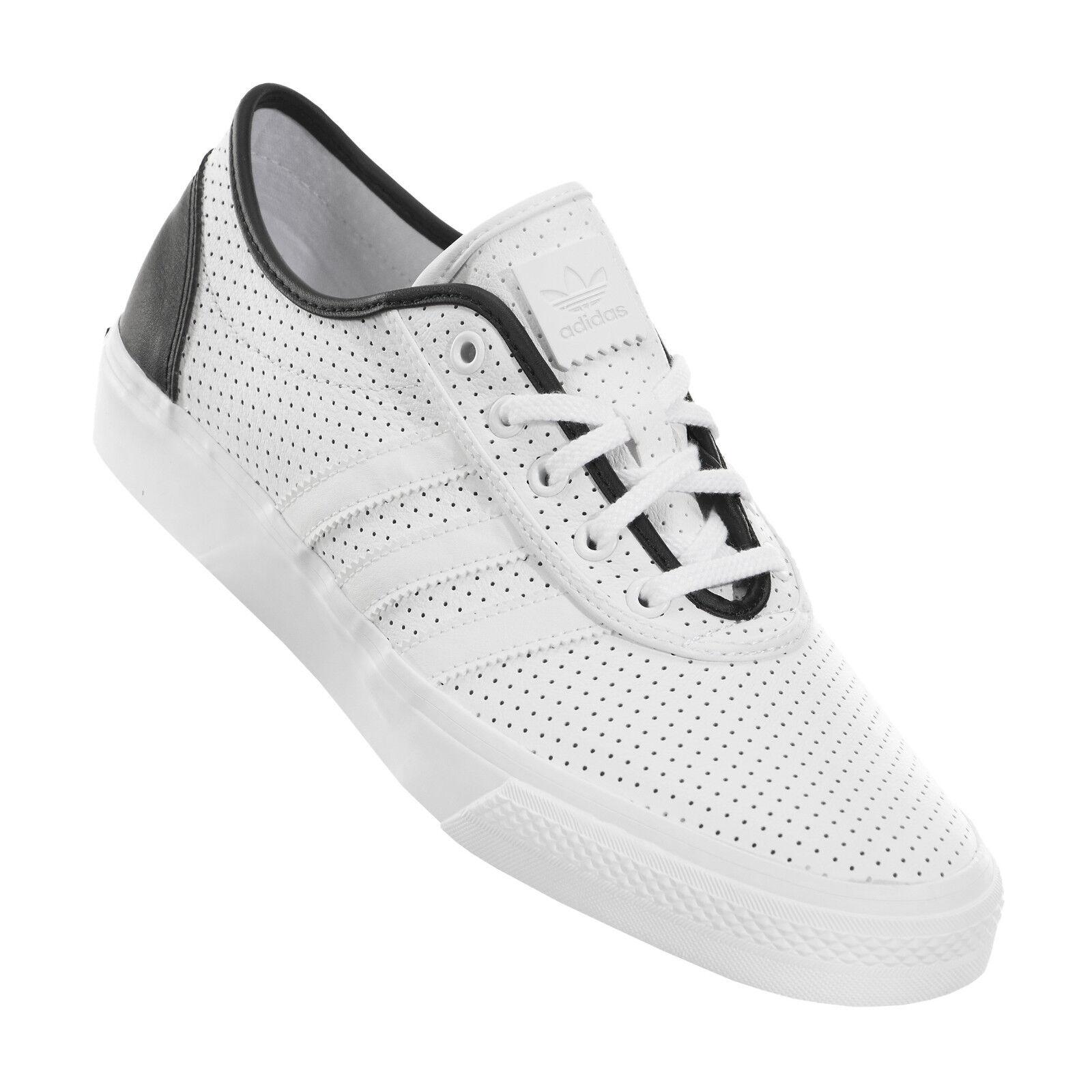 Adidas adi-easy classificati con lo skateboard nero uomini scarpe bianco / nero skateboard f37323 numero 13 d5e03f