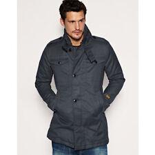 G-Star Raw Fleet Garber Cotton Trench Coat Duck Canvas 100% Cotton Size XL