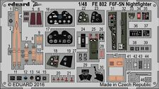 Eduard Zoom FE802 1/48 Grumman F6F-5N Hellcat, Nightfighter Eduard
