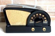 RADIO TRUETONE D2017 BLACK (1950) WAIMEA BAKELITE PLASKON VINTAGE TUBE VALVOLE