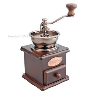 100-Genuine-D-LINE-Casabarista-Classic-Wood-Coffee-Grinder
