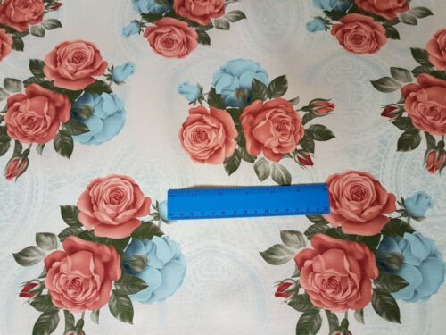 CUSHION VELVET FABRIC DIGITAL PRINT THICK UPHOLSTERY IDEAL FOR CURTAIN CRAFT
