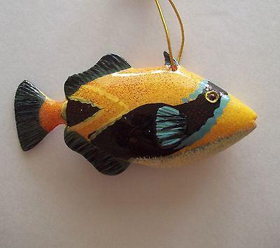 Tropical Fish Tiki Bar & Christmas Ornament Beach Nautical Decor TF029