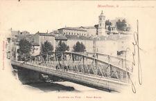 MONTELIMAR quartier du fust pont eiffel timbrée