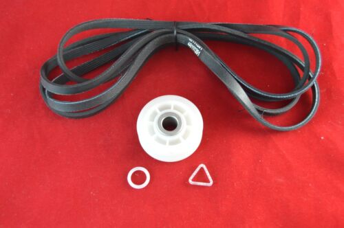 Dryer Idler Pulley /& Belt Kit Replaces 40111201  279640 Whirlpool Maytag New
