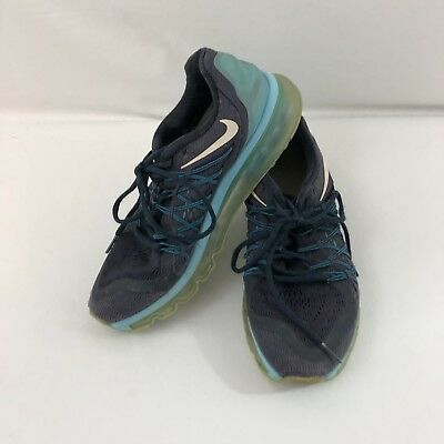 Women's Shoes Expressive Nike Women's 9 Air Max Blue 2015 698903-404 $139 Msrp Athletic Shoes