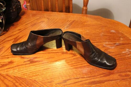 Slip Claiborne Schuhe Größe Liz Brown Flex 5m On Damen 7 terra Mules pw7wf8nq