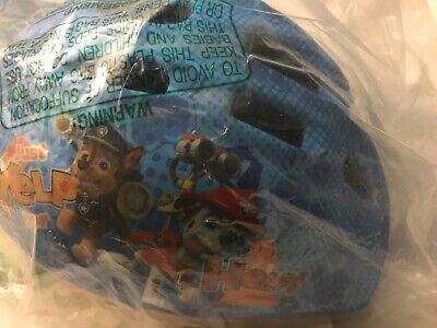 ages 3-5 blue yellow NEW Nickelodeon/'s PAW Patrol Toddler Bicycle Helmet