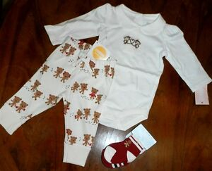 NWT Gymboree Girls Ivory Gingerbread Boy//Girl Collared Bodysuit 6 12 18 24 mos