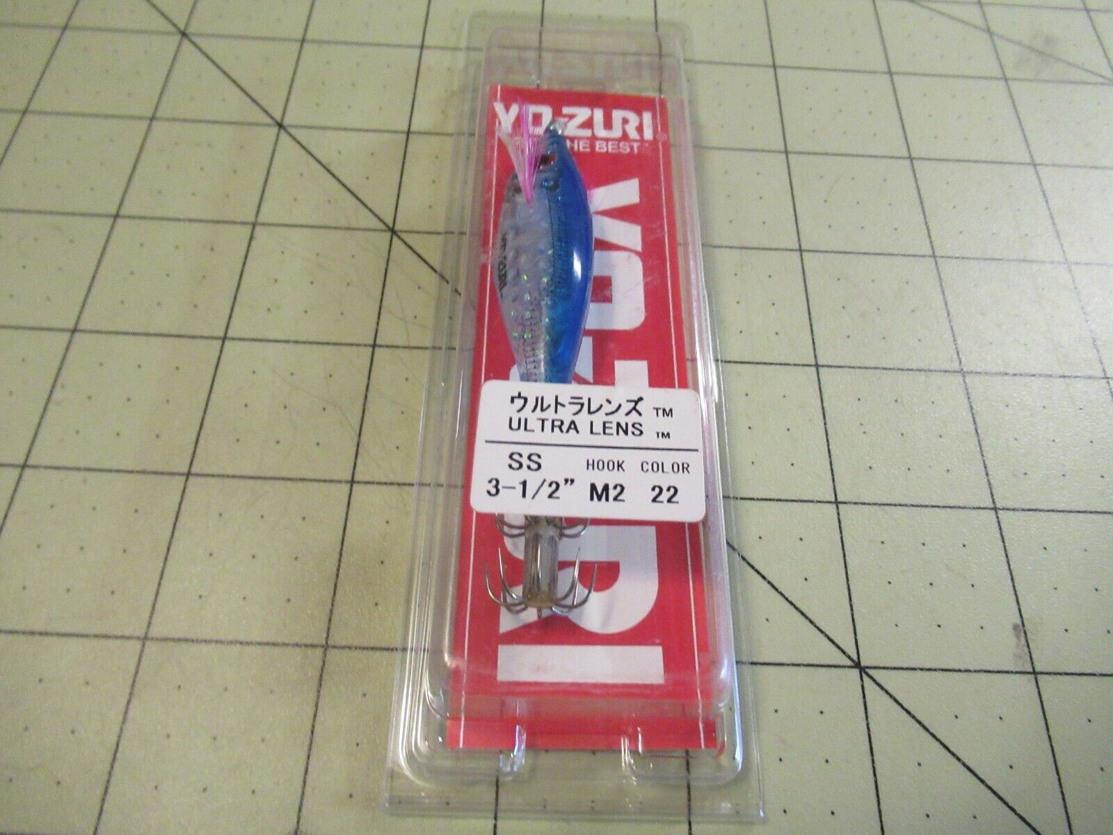1/St/ück//Paket Multi Farbe Yo-Zuri Squid Leader 2-Branch # 2/3,6/kg Lure