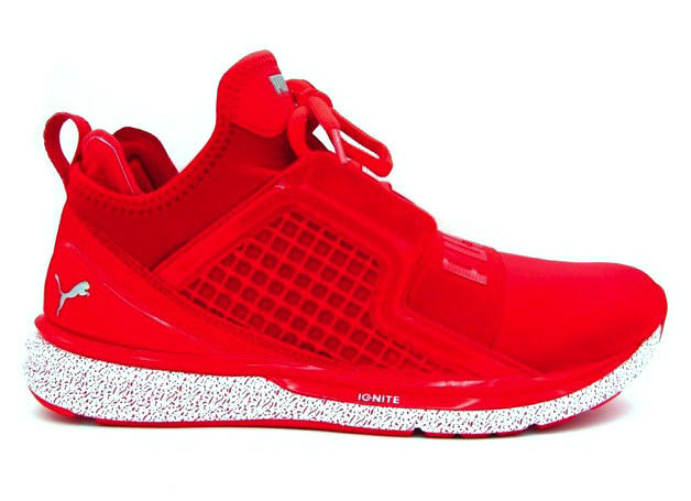 PUMA IGNITE LIMITLESS SNEAKERS ROSSO BIANCO 189641-02
