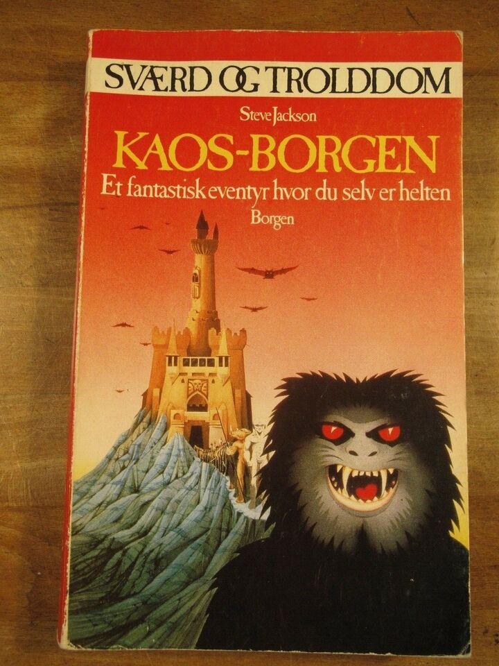 Sværd og Trolddom: KAOS-Borgen (1. oplag, 1985), Steve
