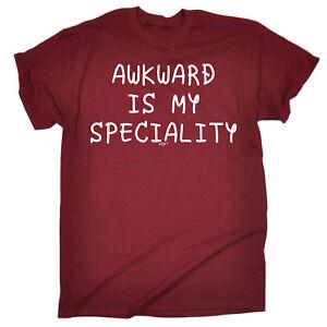 Funny-T-Shirt-Awkward-Speciality-Birthday-tee-Gift-Novelty-tshirt-T-SHIRT