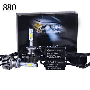 7200lm 80w 880 881 cree led lampe phare avant kit voiture ampoule 6000k blanc ebay. Black Bedroom Furniture Sets. Home Design Ideas