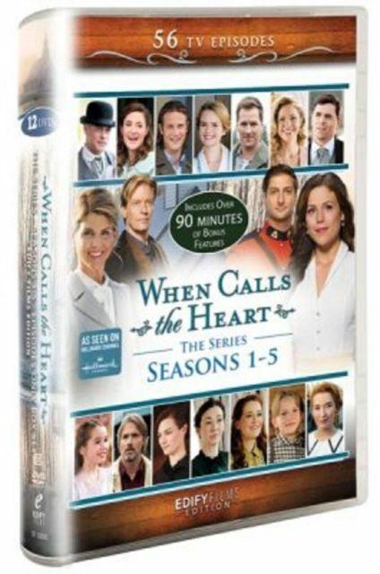 When Calls The Heart Seasons 1 5 Tv Series Dvd For Sale Online Ebay