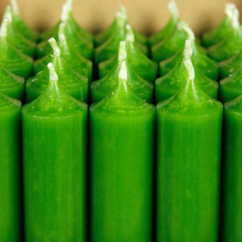 hochgereinigte Kerzen mit rückstandsfrei durchgefärbte Stabkerzen 250mm x 22mm