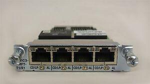 VWIC3-4MFT-T1-E1-Cisco-4-Port-3rd-Gen-Multiflex-Trunk-Voice-WAN-Int-Card