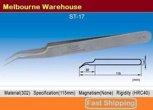 VETUS-Original-Genuine-High-Quality-Stainless-Steel-Switzerland-Tweezers-ST-17