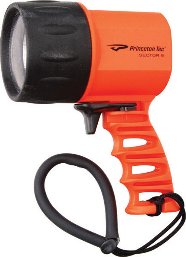 New Princeton Tec Sector 5 LED Spotlight Spotlight Spotlight Orange PT02151 68973a