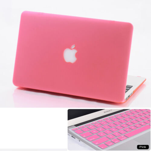 Keyboard Skin For Macbook Air Pro 13 /'/' Retina Pink Matte Hard Case Cover