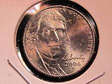 2006-P Jefferson Nickel - GEM Uncirculated