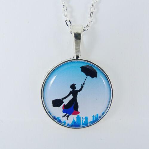 Mary Poppins Collar Disney prácticamente perfecto Vintage Retro Escena London