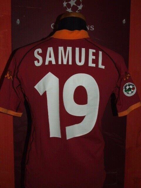 WALTER SAMUEL ROMA 2001 2002 MAGLIA SHIRT CALCIO SOCCER FOOTBALL JERSEY MAILLOT