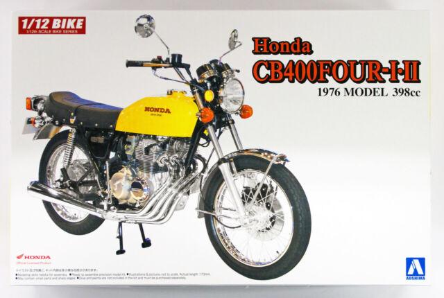 Aoshima 52242 Bicicleta 30 Honda CB400FOUR i - II (398cc) 1/12 Escala Kit