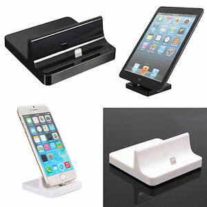 usb sync dock docking base station charger cradle stand for ipad air 2 iphone ebay. Black Bedroom Furniture Sets. Home Design Ideas
