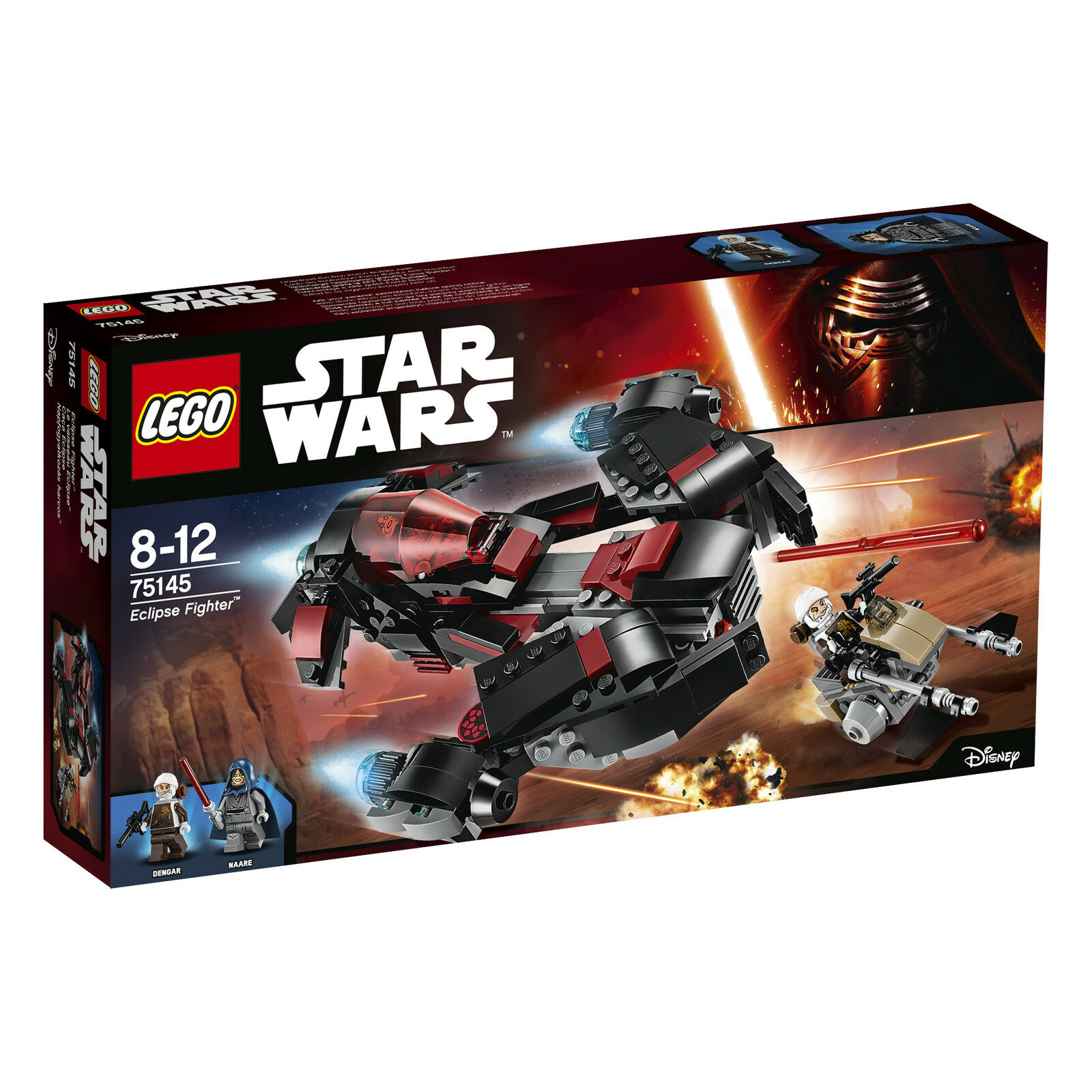 LEGO® Star Wars™ 75145 Eclipse Fighter™ NEU OVP NEW MISB NRFB