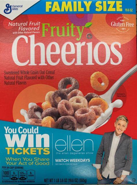 Fruit Cheerios Breakfast Cereal, Family