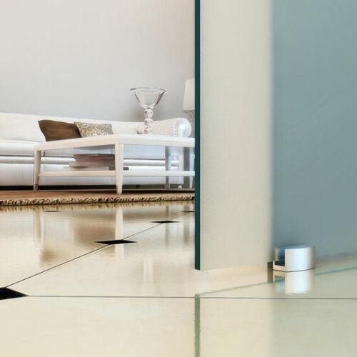 Soft Stop Slimline Glasschiebetür Glastür Glas Schiebetür klar 775x2050mm BC775