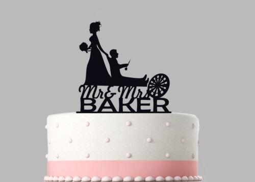 Dart Board Funny Wedding Cake Topper Decoration Personalised Acrylic.853