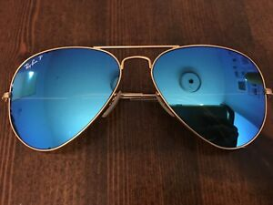 7a99a095cd Image is loading VTG-Vintage-Ray-Ban-RB3025-Aviator-Large-112-