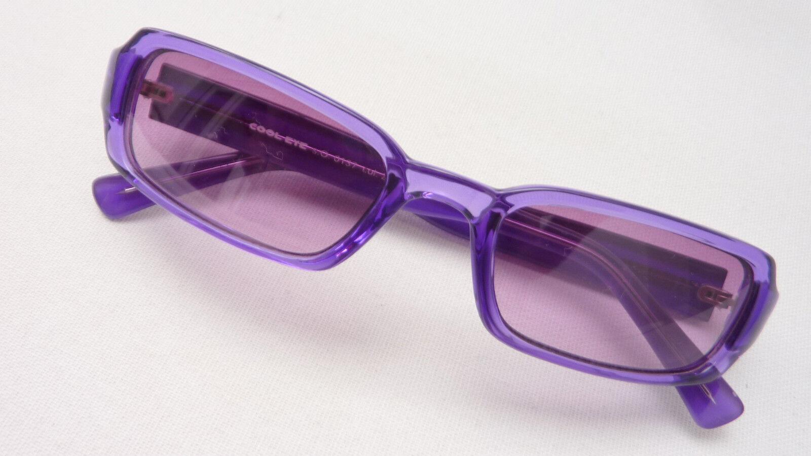 S.Oliver Sonnenbrille Sonnenbrille Sonnenbrille Kunststoff lila Kunststoffgläser 75% grau neu Größe M | eine große Vielfalt  4f9235