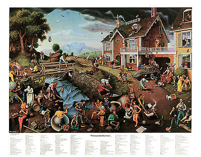 Breitenbach 2 Print Set Fantasy E Ultimate Proverbidioms /& Proverbidioms II T
