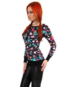 rockabilly Brand pinup custom biker tattoo Style Damen Cardigans Unicorns Liquor UIdTqwT