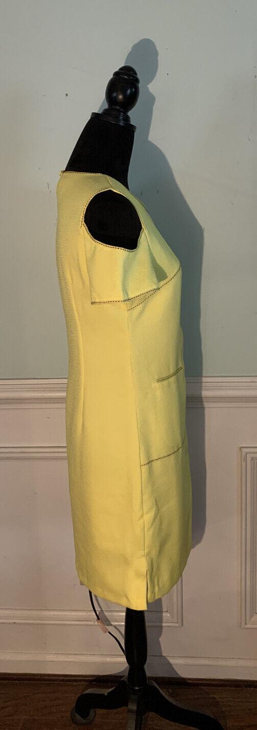 Esley bright yellow cold shoulder dress size medi… - image 4