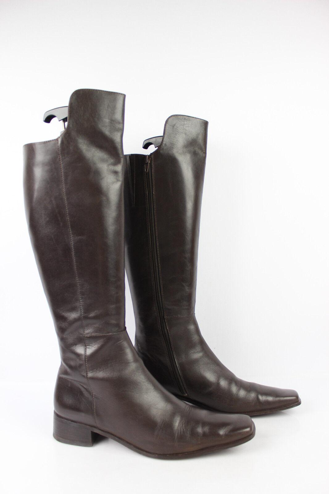 botas botas botas Genoux DERHY Cuir marrón T 41 TRES BON ETAT  tienda de venta