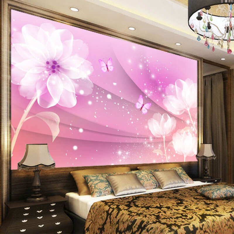 Snowy Day Leaf 3D Full Wall Mural Photo Wallpaper Printing Home Kids Decoration