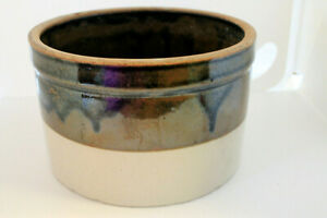 Stoneware-Pottery-Butter-Cheese-Crock