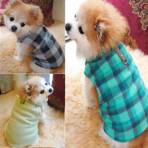 Small-Pet-Dog-Fleece-Harness-Vest-Puppy-Warm-Sweater-Coat-T-Shirt-Jacket-Apparel